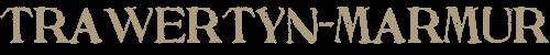 TRAWERTYN – MARMUR Retina Logo