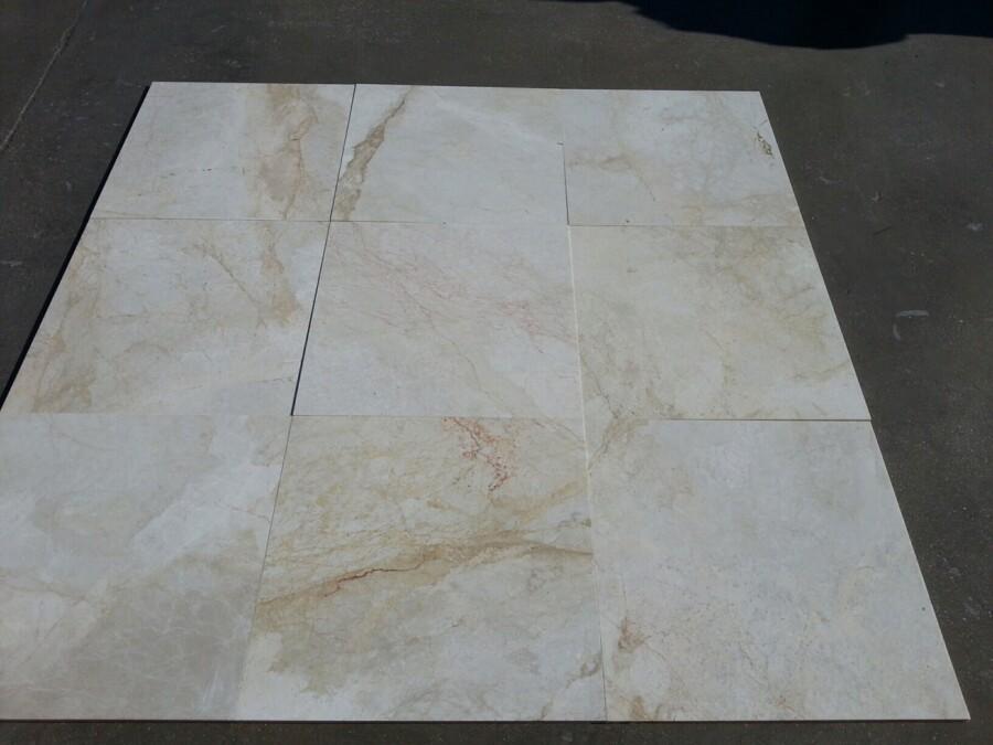 Płytki marmurowe Ice Beige POL 61cm x 61cm x 1,2cm