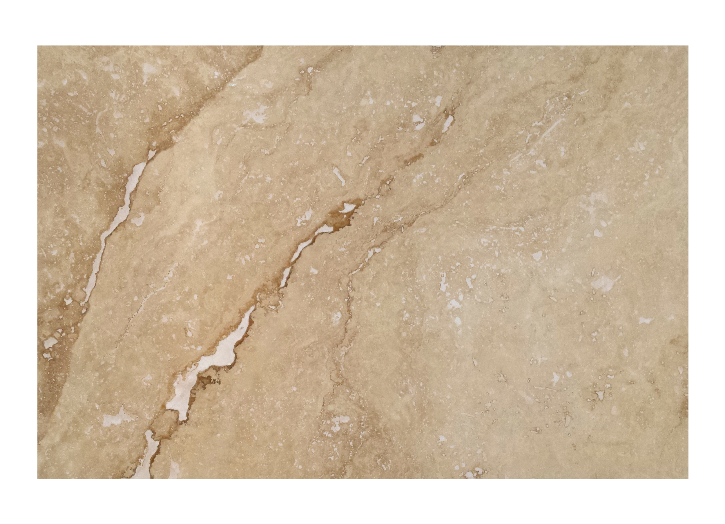 Trawertyn Ivory Onyx H/F 40,6cm x 61cm x 1,2cm