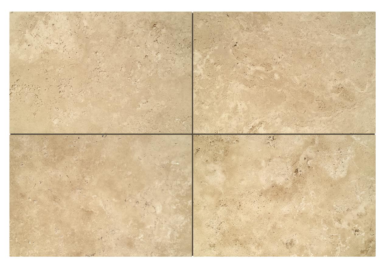 Trawertyn Ivory UF/B 40,6cm x 61cm x 1,2cm