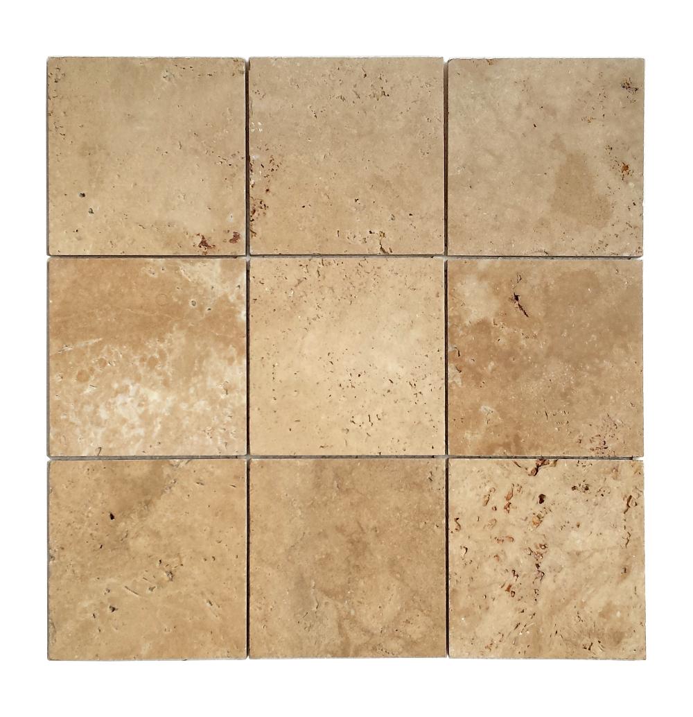 Trawertyn Walnut UF/B 15,25cm x 15,25cm x 1,2cm