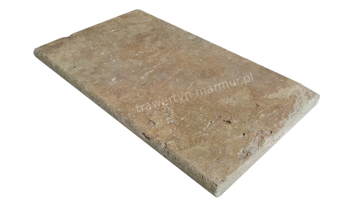 Stopnica schodowa (parapet) trawertyn Walnut Trep UF/H 33cm x 61cm x 3cm