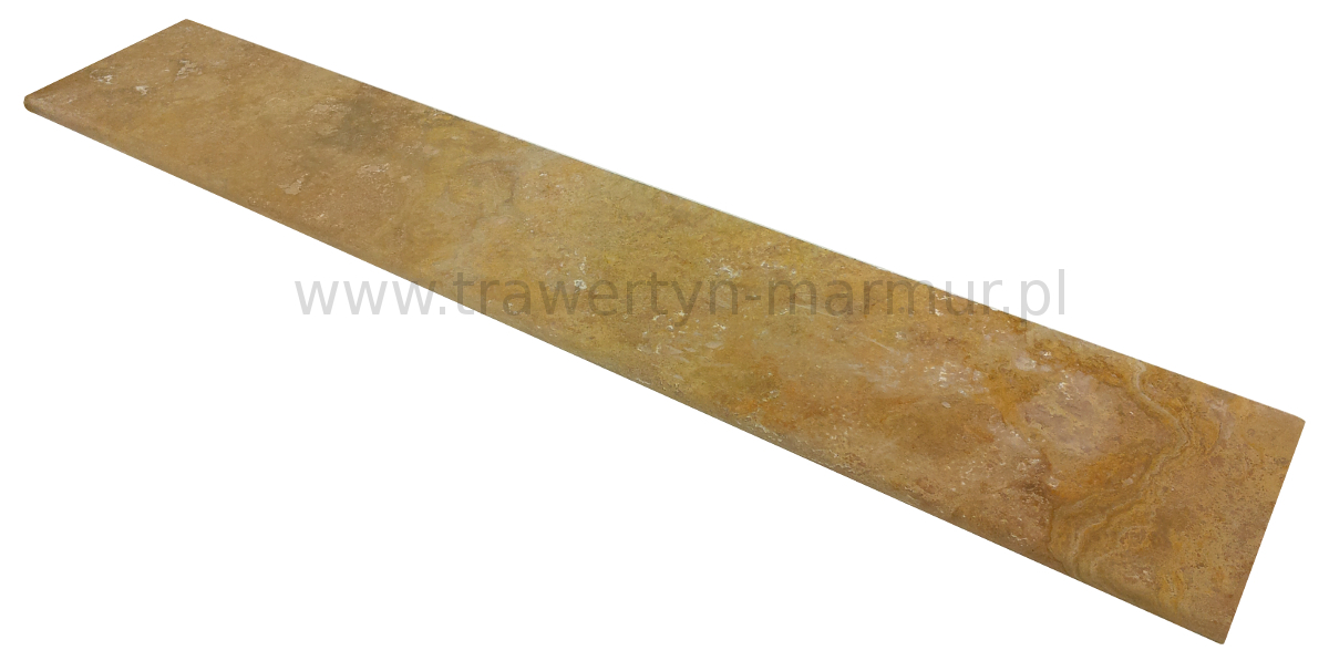 Stopnica schodowa (parapet) Trawertyn Yellow (Golden) Trep H/F 35cm x 200cm x 3cm