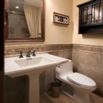 Płytki wapienne w łazience