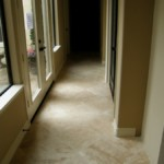 Trawertyn w korytarzu