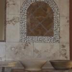 Umywalki z trawertynu