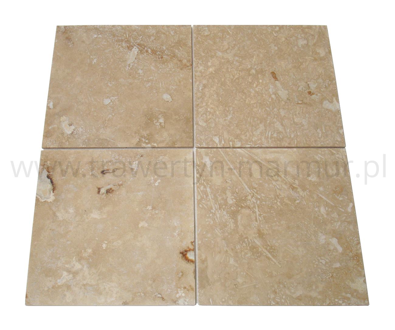 Trawertyn Ivory Onyx H/F 40,6cm x 40,6cm x 1,2cm