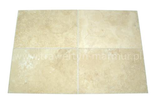 Trawertyn płytki Ivory UF/H/C 40,6cm x 61cm x 1,2cm