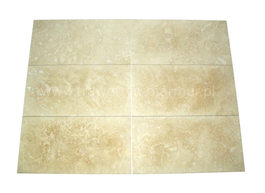 Trawertyn płytki Ivory H/F 30,5cm x 61cm x 1,2cm