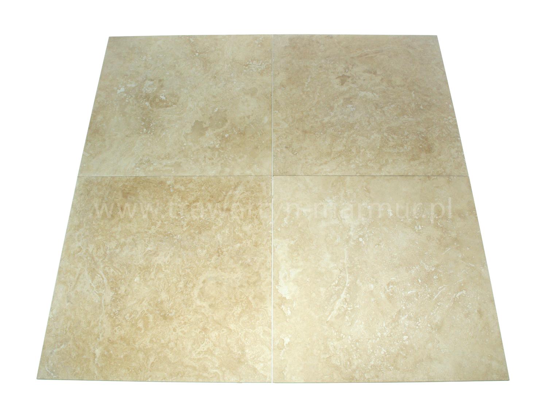 Trawertyn płytki Ivory H/F 61cm x 61cm x 1,2cm
