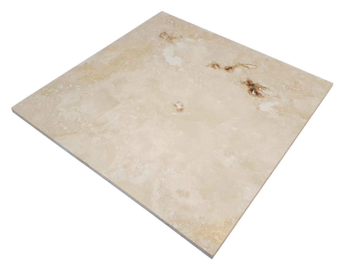 Trawertyn Ivory Onyx H/F 45,7cm x 45,7cm x 1,2cm