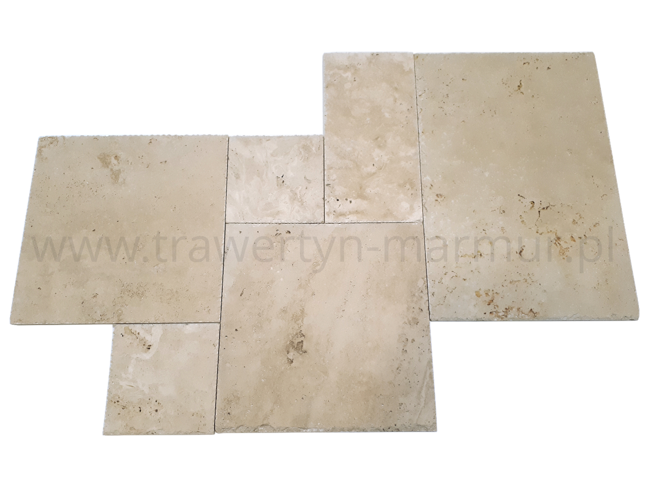 Płytki trawertyn Ivory UF/H/C Square Pavio