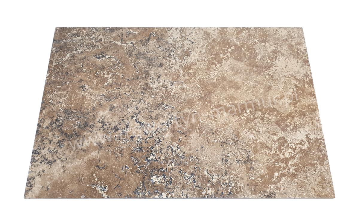 Płytki trawertynowe Noce (Noche) H/F 40,6cm x 61cm x 1,2cm