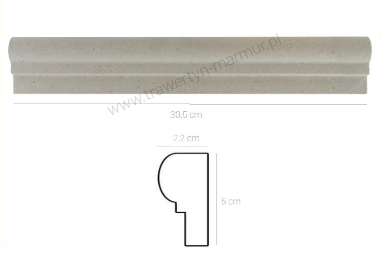 Dekor wapienny ML 00212 I Step 4,5cm x 30,5cm