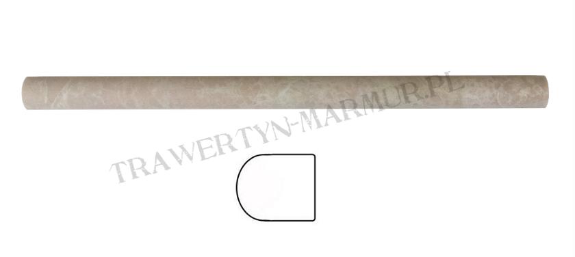 Dekor marmurowy Botticino Pencil 2cm x 30,5cm
