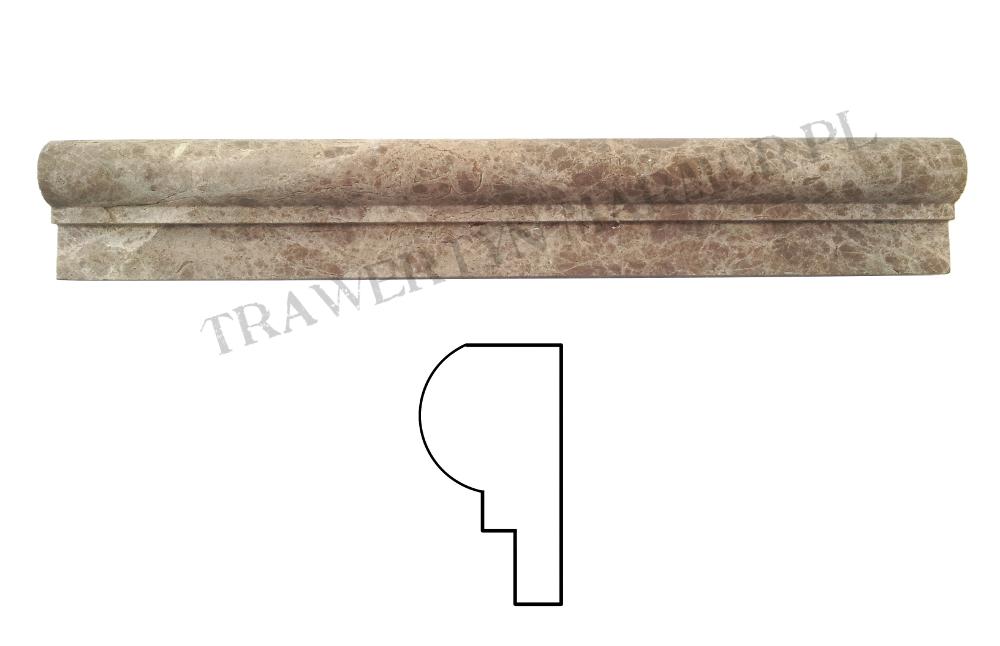 Dekor marmurowy Emparador I Step 4,5cm x 30,5cm