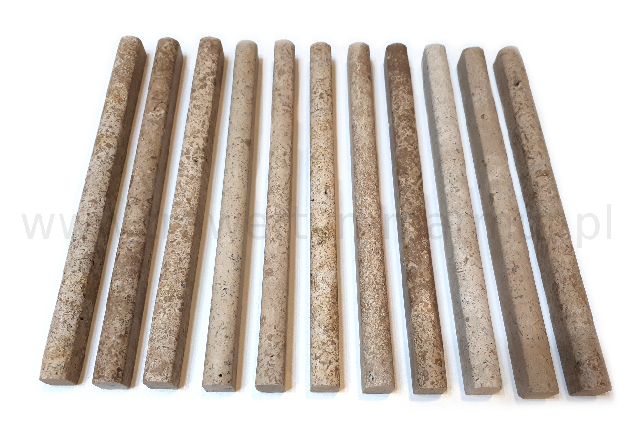 Dekor trawertynowy Tuscany Pencil 2cm x 30,5cm