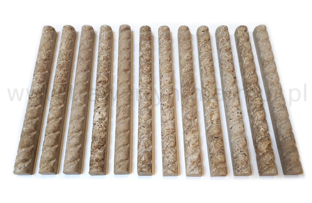 Dekor trawertynowy Tuscany Pencil Rafaello 2,5cm x 30,5cm