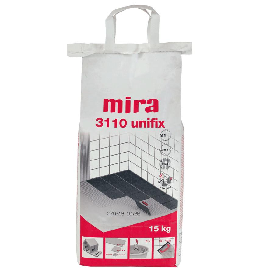 Klej do płytek Mira 3110 unifix (biały) C2TE S1 15kg