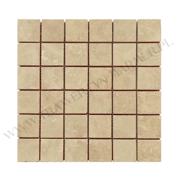Mozaika trawertynowa Ivory H/F 5cm x 5cm