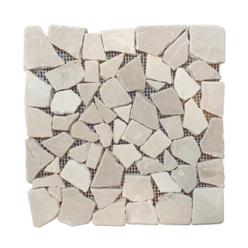 Mozaika marmurowa Beige Palladien Tumbled