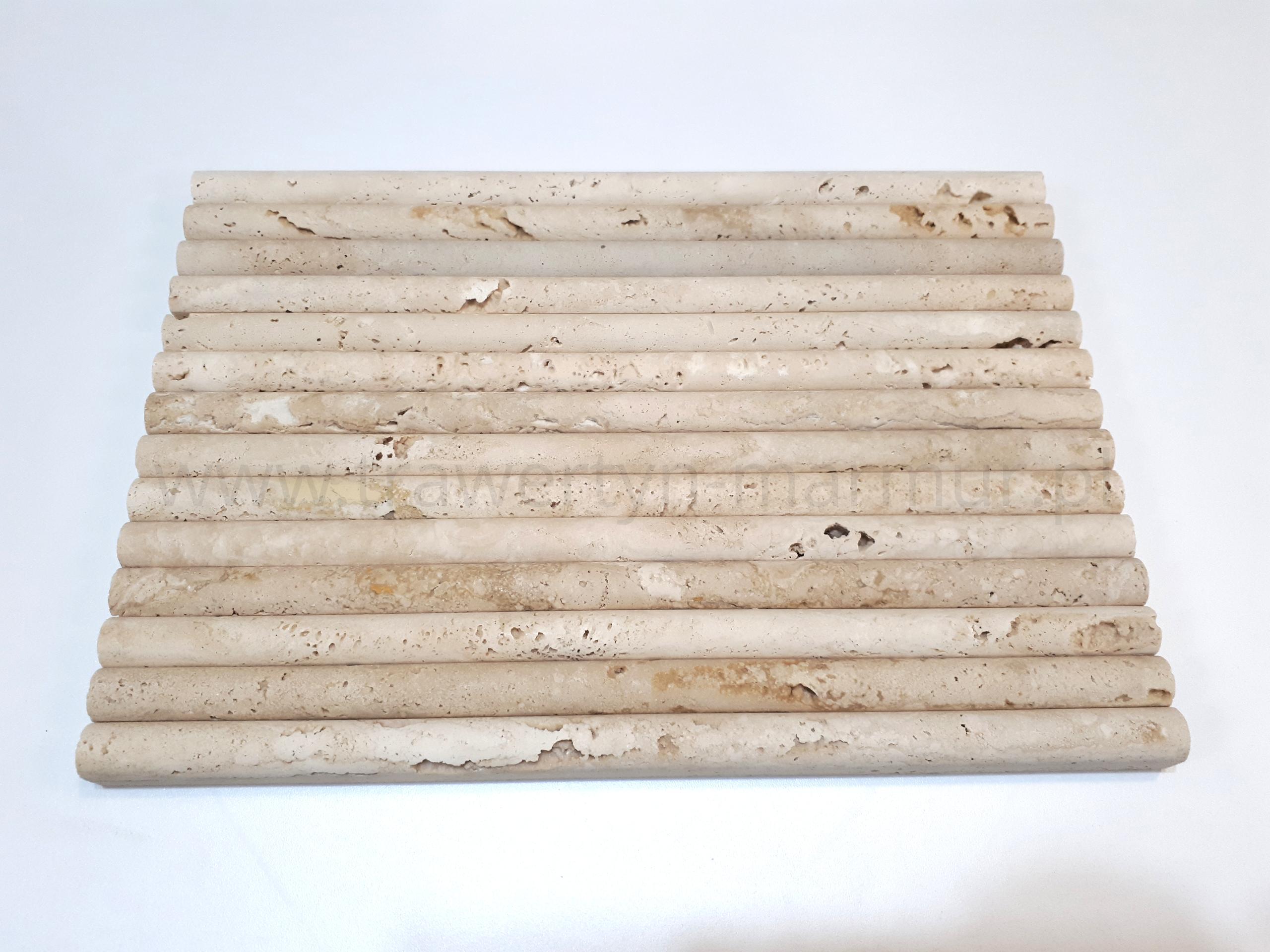 Dekor trawertyn Ivory Pencil 1,5cm x 30,5cm