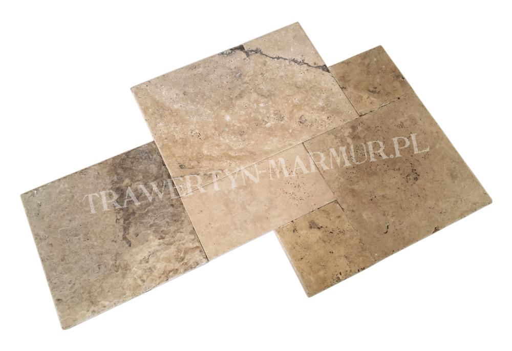Trawertyn Leonardo B/C Square Pavio (french pattern)