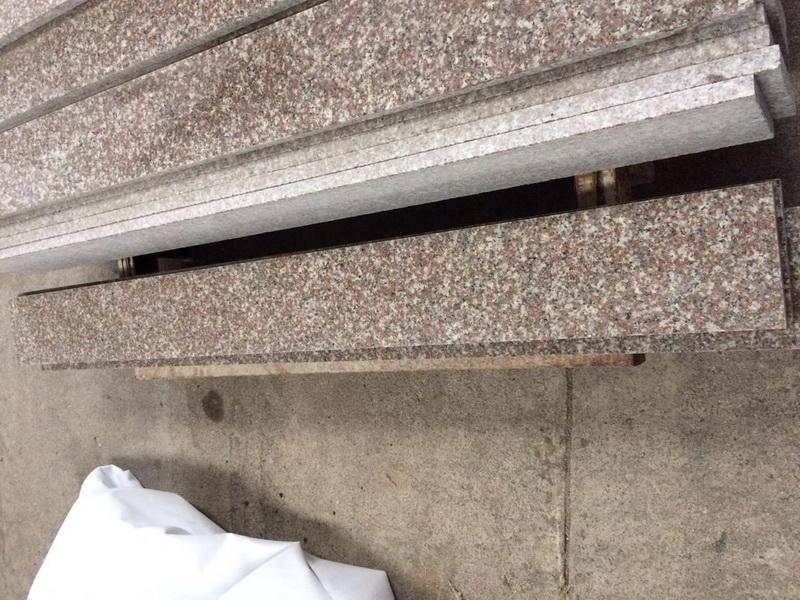 Podstopnica schodowa granit Misty Brown G664 polerowana 150cm x 15cm x 2cm
