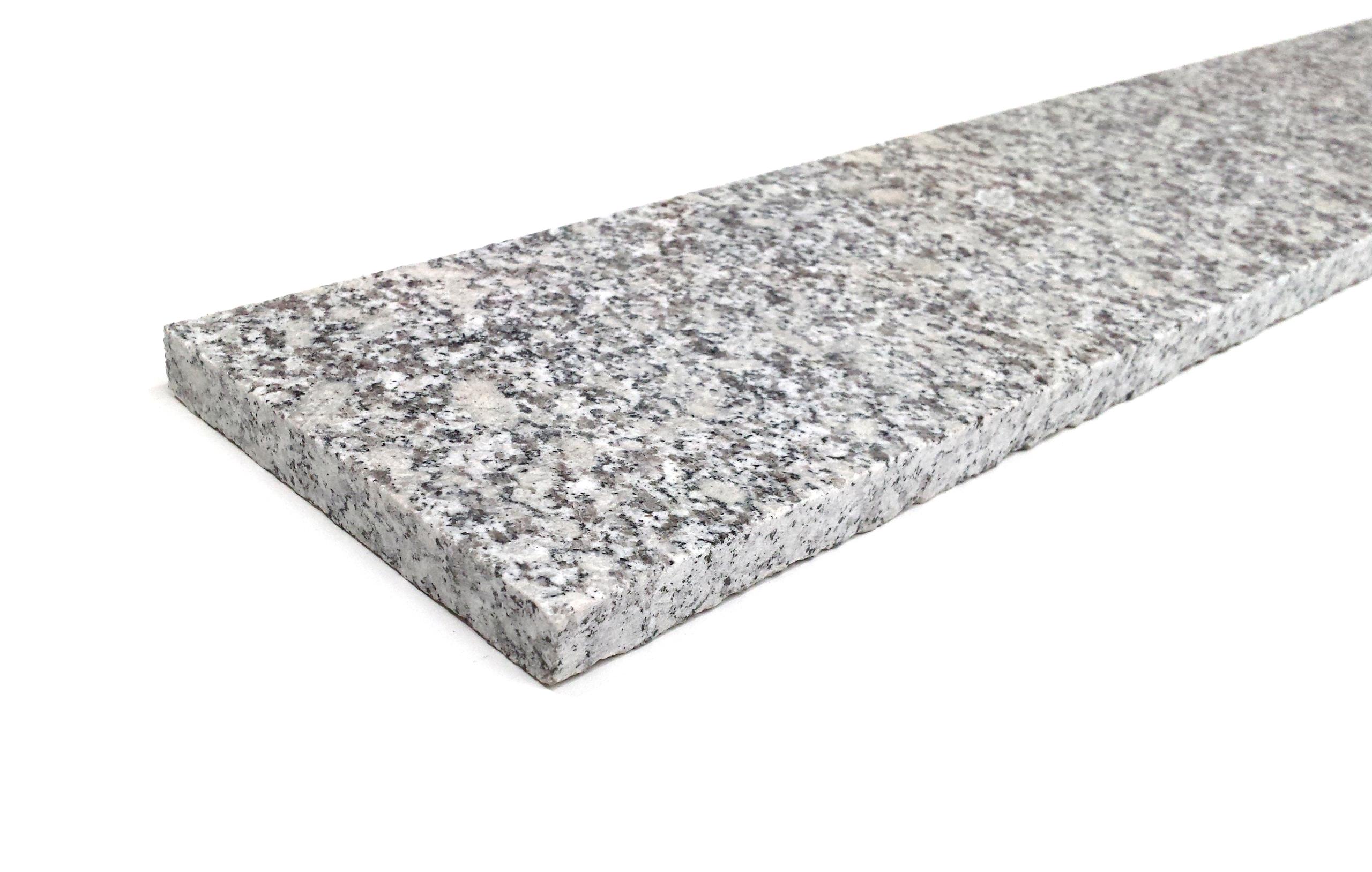 Podstopnica schodowa granit Grey Light G602 polerowana 150cm x 15cm x 2cm