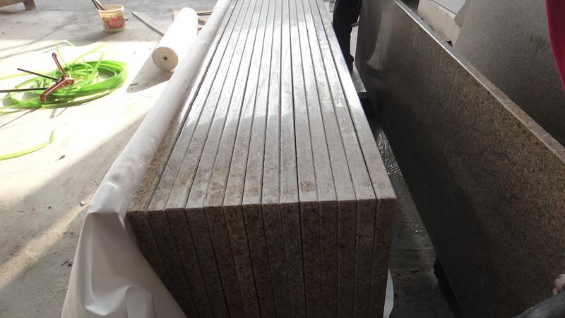 Blat granitowy Yellow Pink G682 220cm x 60cm x 3cm polerowany