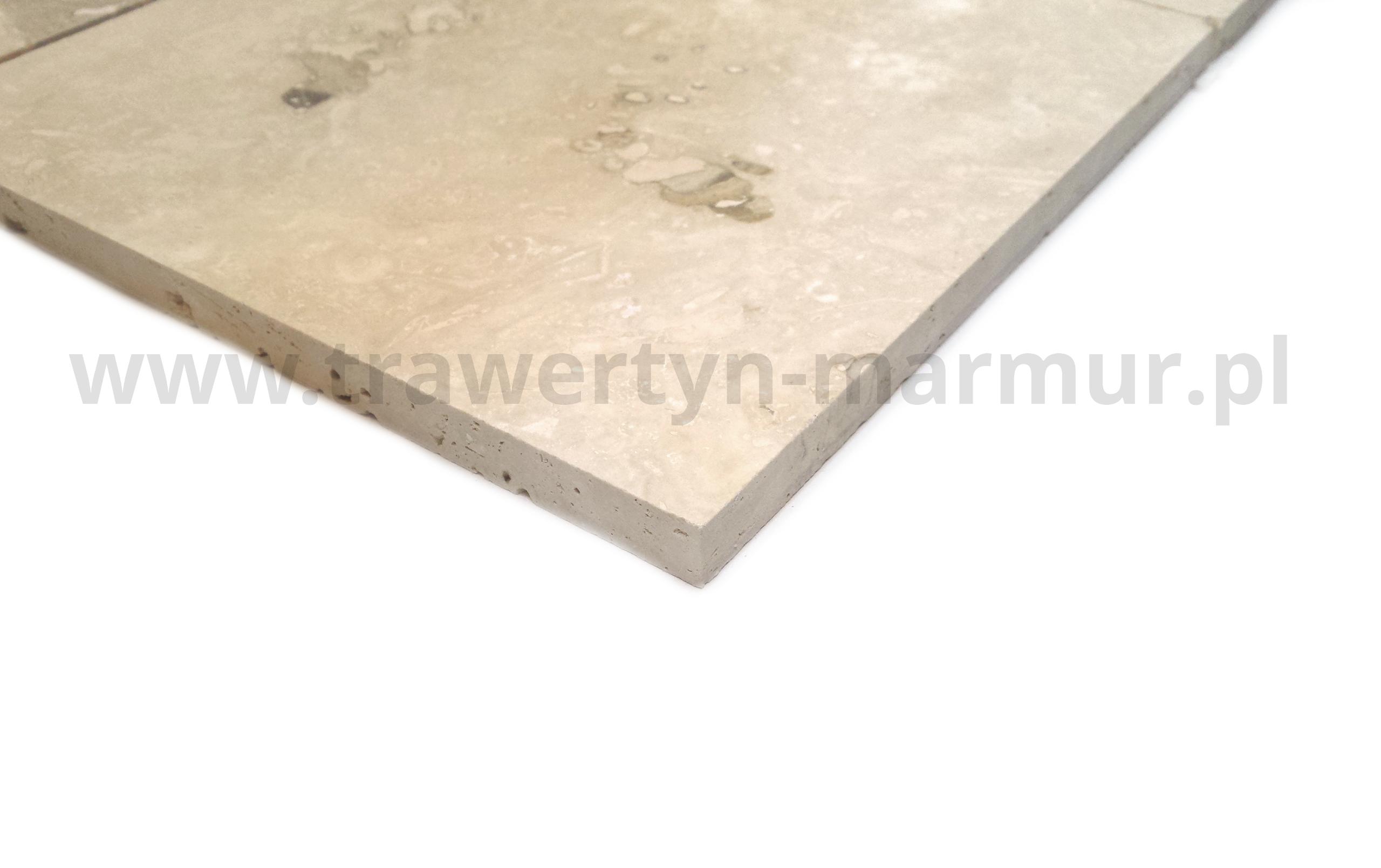 Trawertyn Ivory Onyx H/F 20,3cm x 20,3cm x 1,2cm