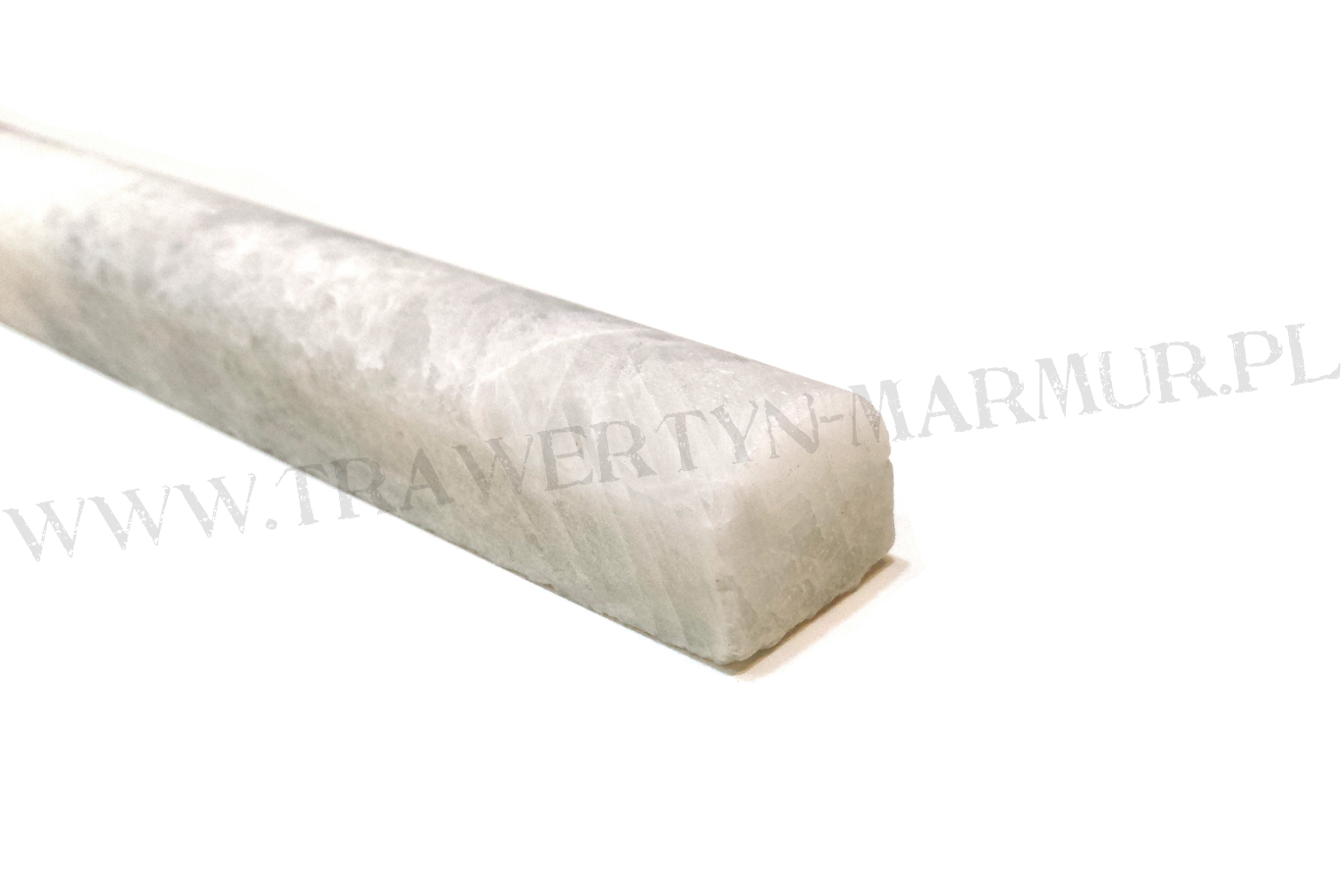 Dekor marmurowy Bianco Carrara Pencil 2cm x 30,5cm