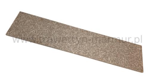 Stopnica schodowa granit Misty Brown G664 polerowana 150cm x 33cm x 2cm