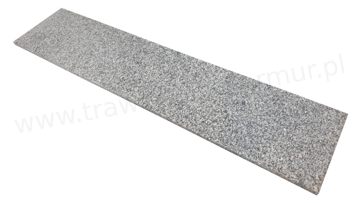 Stopnica schodowa granit Grey Light G602 polerowana 150cm x 33cm x 2cm