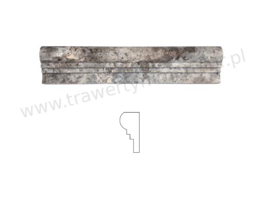 Dekor trawertynowy Silver II Step 6,4cm x 30,5cm