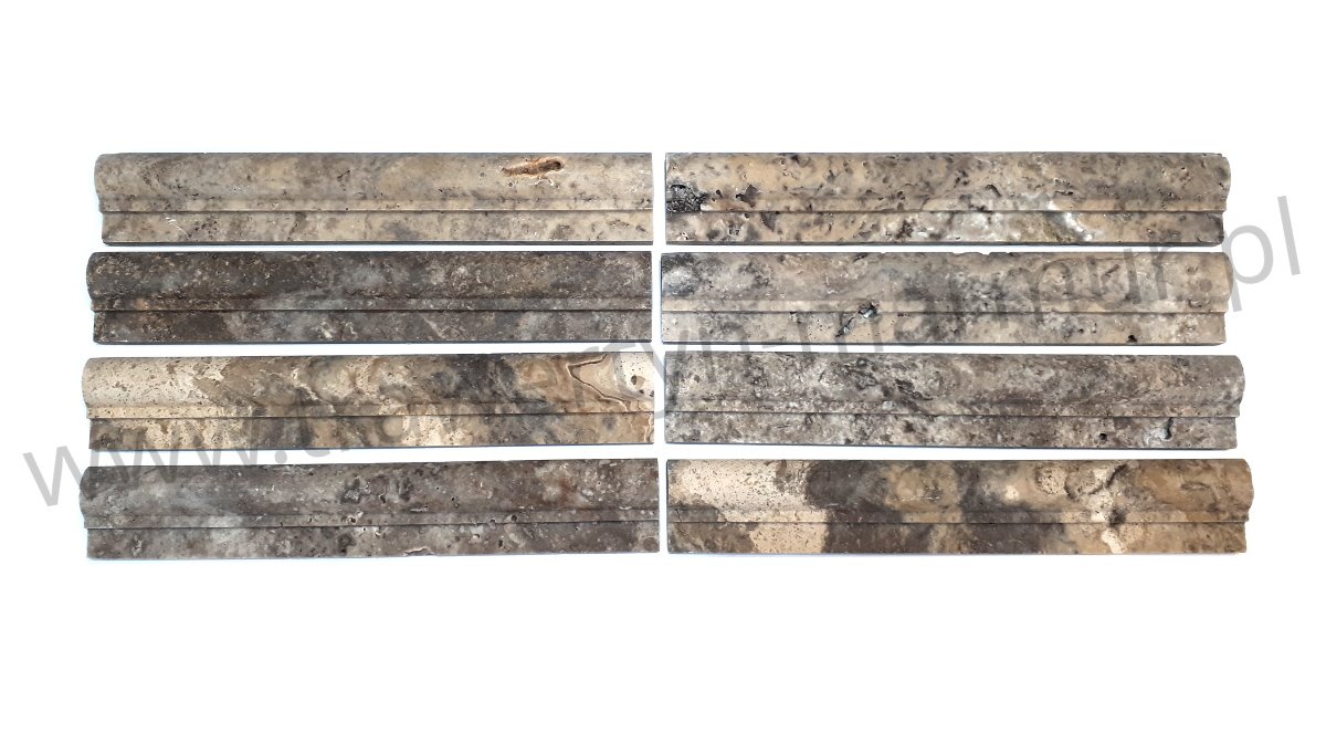 Dekor trawertynowy Silver I Step 5cm x 30,5cm