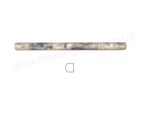 Dekor trawertynowy Silver Pencil 2cm x 30,5cm