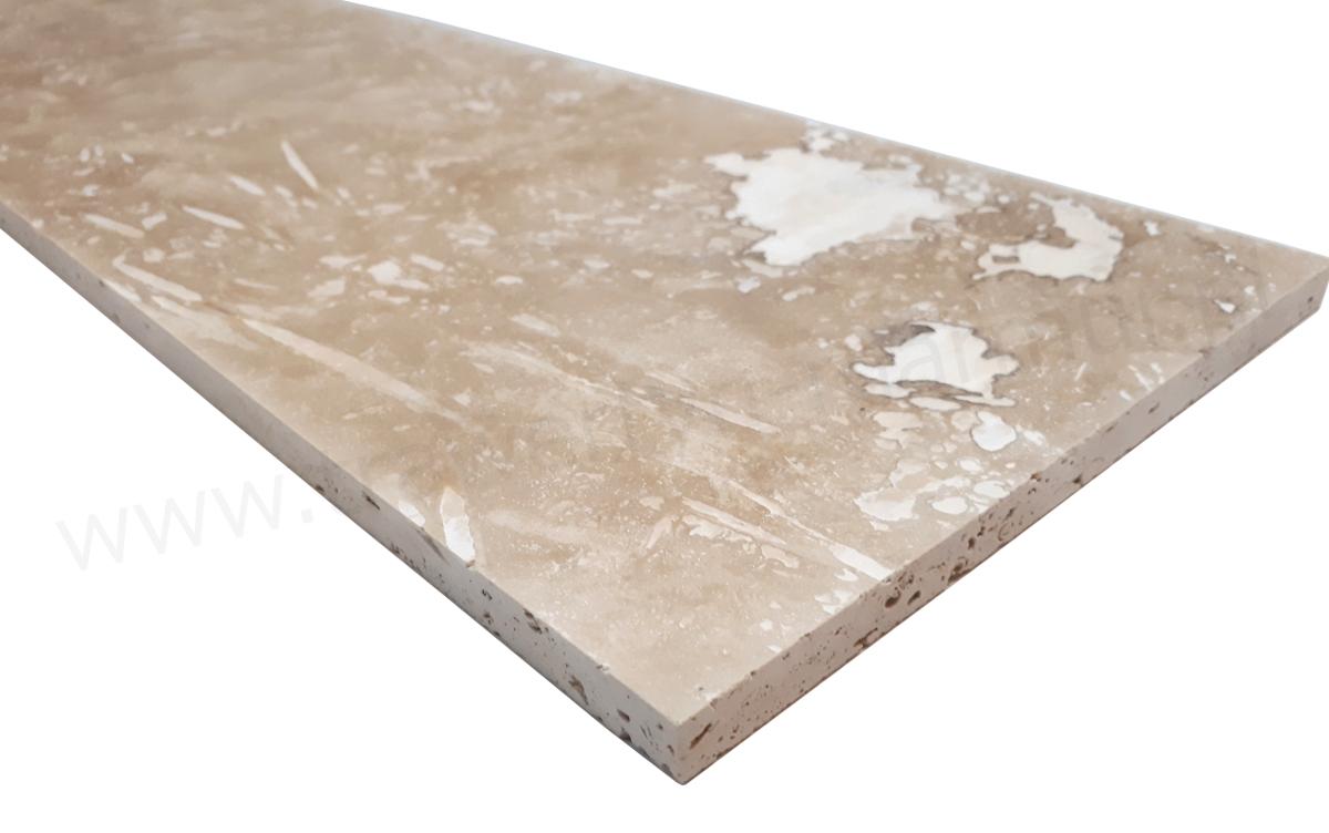 Trawertyn Ivory Onyx H/F 20,3cm x 61cm x 1,2cm
